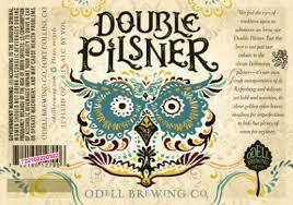 Double Mountain Pilsner beer Label Full Size