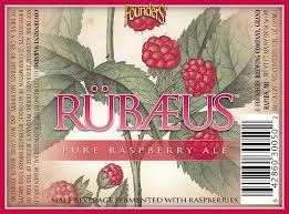 Founders Rubaeus beer Label Full Size