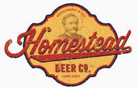 Homestead Landrush Brown Ale beer Label Full Size