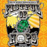Sun King Fistful of Hops Orange beer