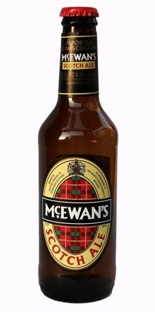 Heineken McEwans Scotch Ale beer Label Full Size