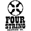 Four String Brass Knuckle Pale Ale infused w/ Grapefruit and Corriander beer