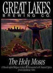 Great Lakes Holy Moses beer Label Full Size
