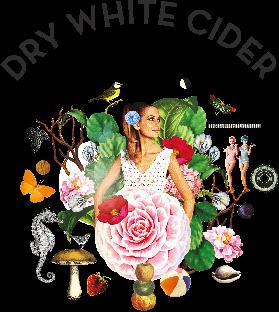 Wolffer Dry WHite beer Label Full Size