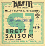 Transmitter S7 Brett Saison Beer