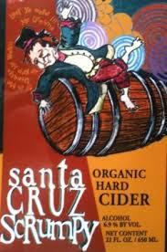 Santa Cruz Scrumpy Cider beer Label Full Size