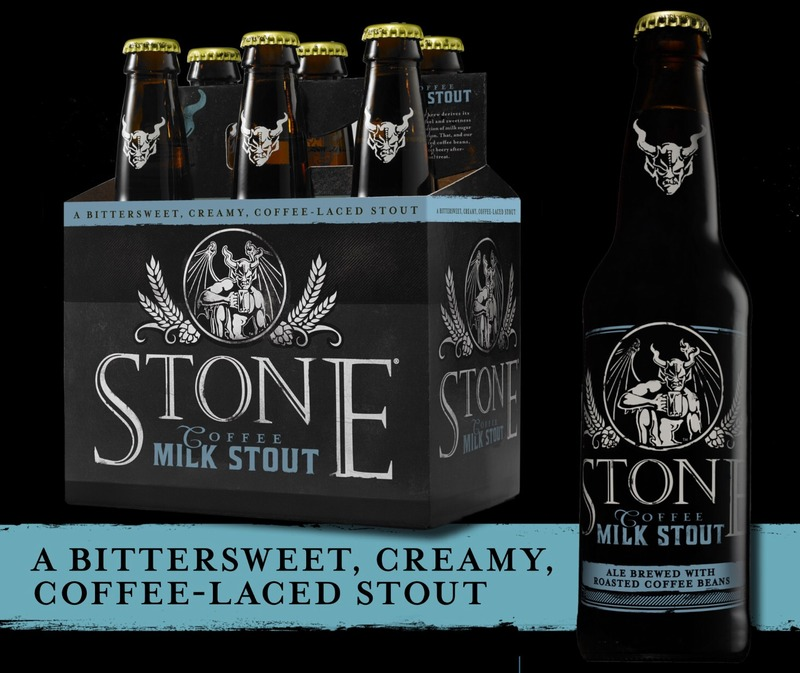Stone Coffee Milk Stout beer Label Full Size