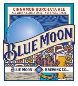 Blue Moon Cinnamon Horchata beer Label Full Size