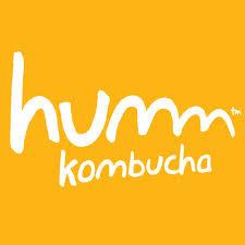 Humm Kombucha Pomegranate Lemonade beer Label Full Size