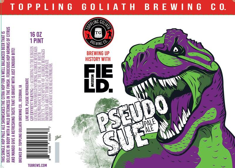 Toppling Goliath Pseudo Sue Beer