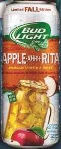 Bud Light Apple Ahhh Rita beer Label Full Size
