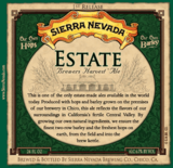 Sierra Nevada Estate Harvest Ale beer