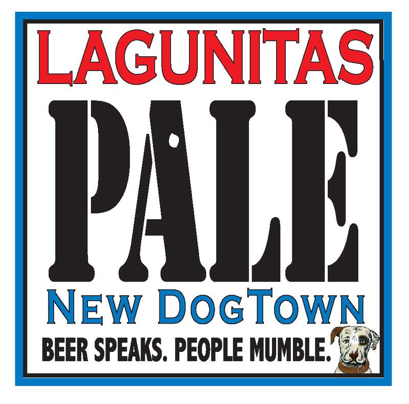 Lagunitas New Dogtown beer Label Full Size