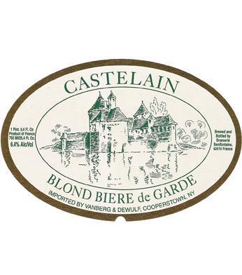 Castelain Blond Biere de Garde beer Label Full Size
