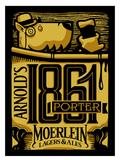 Christian Moerlein Arnold's 1861 Porter Nitro beer