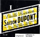 Saison Dupont Vielle Provision beer