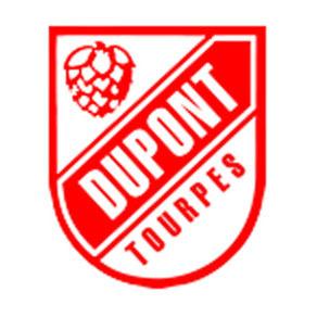 Dupont Brass Saison beer Label Full Size