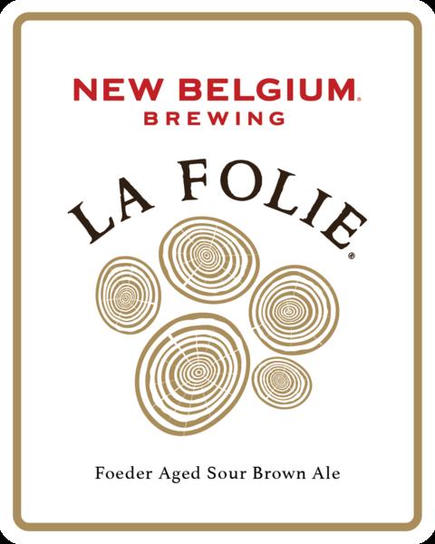 New Belgium La Folie beer Label Full Size