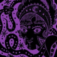 Jackie O's Mystic Mama IPA beer Label Full Size