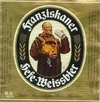 Spaten Franziskaner Hefe-Weiss beer Label Full Size