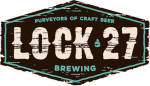 Lock 27 Mouth Breather beer Label Full Size