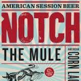 Notch The Mule beer Label Full Size