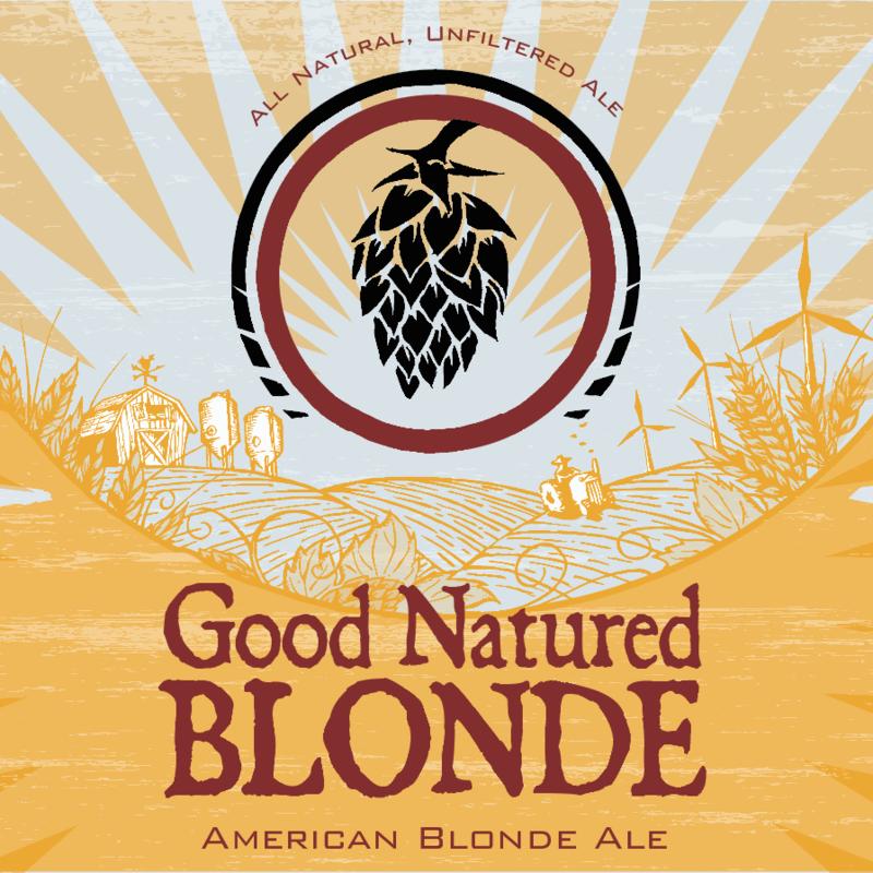 Good Natured Blonde beer Label Full Size