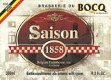 Brasserie du Bocq Saison 1858 beer