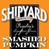 Shipyard Smashed Pumpkin Beer