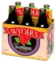 Wyder's Dry Raspberry Cider beer Label Full Size