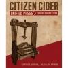 Citizen Burbon Barrel Aged beer Label Full Size