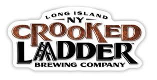 Crooked Ladder Pear Saison beer Label Full Size