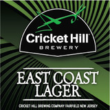 Cricket Hill East Coast Lager Beer