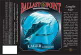 Ballast Point Longfin Lager beer