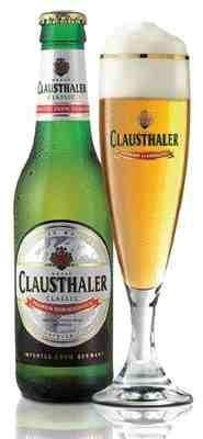 Clausthaler Premium Non-Alcoholic beer Label Full Size