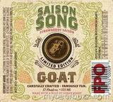 Horny Goat Strawberry Saison Song Beer