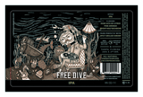 Coppertail Free Dive Beer