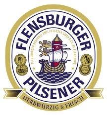 Flensburger Pilsener beer Label Full Size