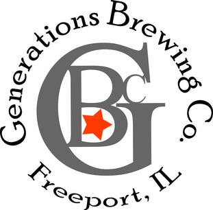 Generations Pretzel City Amber beer Label Full Size
