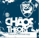 BrewDog Chaos Theory beer Label Full Size
