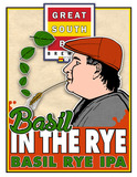 Great South Bay Basil in the Rye beer