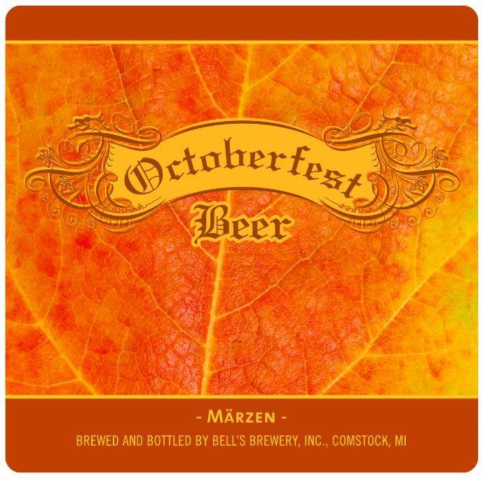 Bell's Octoberfest beer Label Full Size