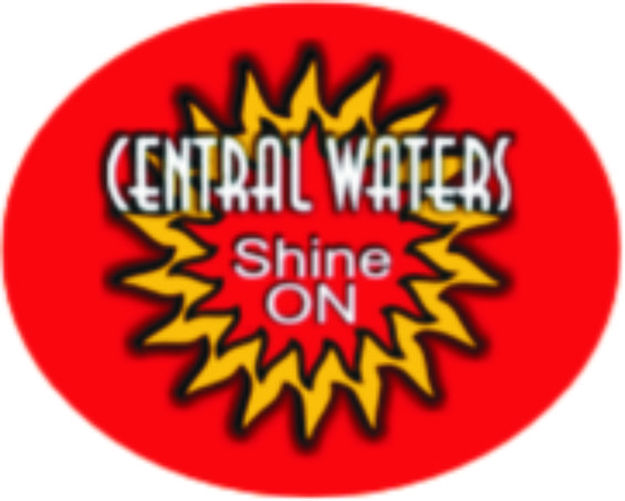 Central Waters Shine On beer Label Full Size