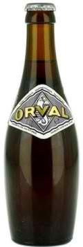 Orval 2012 beer Label Full Size