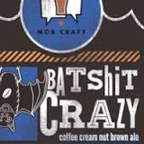 MobCraft Bat Shit Crazy beer Label Full Size