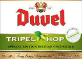 Duvel Tripel Hop Golden Ale beer