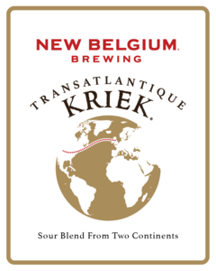 New Belgium Transatlantique Kriek beer Label Full Size