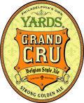 Yard's Grand Cru beer Label Full Size