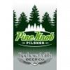 Rochester Mills Pine Knob Pilsner beer Label Full Size