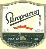 Staropramen Premium Lager Beer